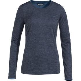 VAUDE Essential T-shirt à manches longues Femme, eclipse